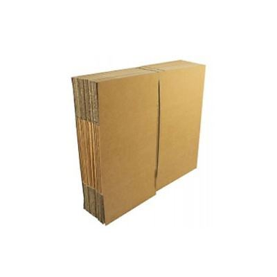Double Wall 457x457x457mm Brown Corrugated Dispatch Cartons [JF02121]