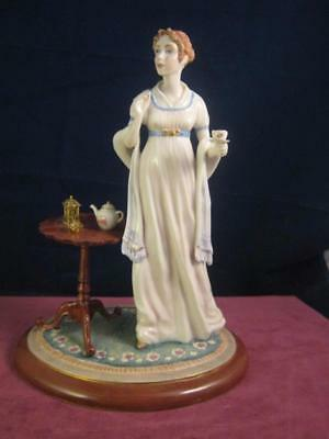 Lovely The Franklin Mint Figurine  Jane Austens Elinor Limited Edition  Free P&P