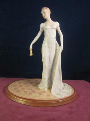 Lovely The Franklin Mint Figurine  Jane Austens Emma  Limited Edition  Free P&P