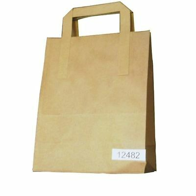 Paper Takeaway Bag Brown (Pack of 250) BAG-SPIC01-A [JF01561]