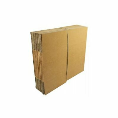 Double Wall 599x510x410mm Brown Corrugated Dispatch Cartons [JF00548]