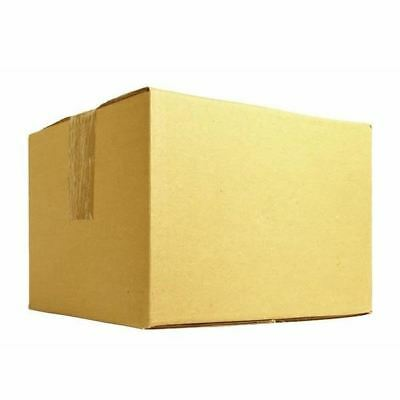 Single Wall 178x178x178mm Brown Corrugated Dispatch Cartons [JF00537]