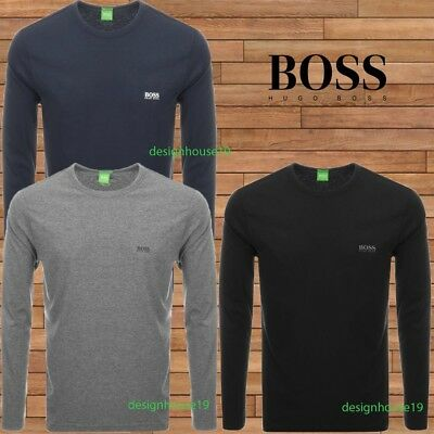 Hugo Boss Polo Men's Crew Neck Long Sleeve T-shirt