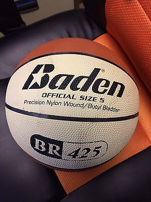 Baden Rubber Replica Match Basketball - an and Cream Size 5  quantity 2