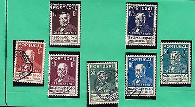 Portugal 1940 Rowland Hill Issues - 1 missing from set