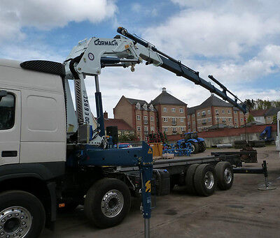 Lorry loader crane/cranes Cormach/PM/Maxilift supply&fit