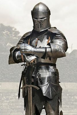 Medieval Knight Half Suit Of Armor Wearable Suit Of Armor Costume