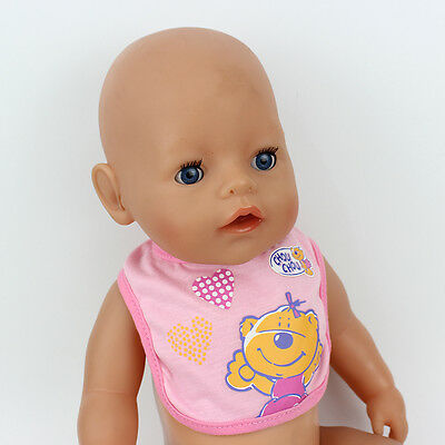 The saliva towel  doll clothes Wearfor 43cm Baby Born zapf (only sell clothes )