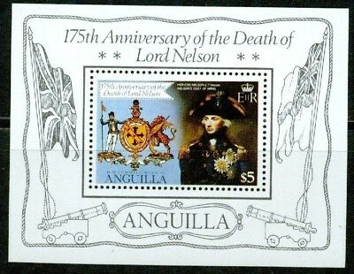 Anguilla – 1981 – Lord Nelson – S/s - Vf  **