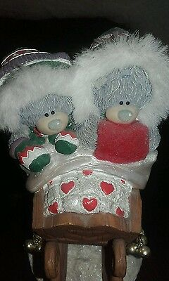 Me to you tatty teddy figurine sleigh ride for two