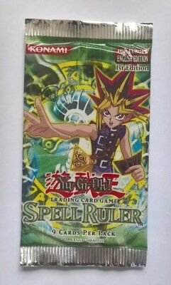 Yu-Gi-Oh! Spell Ruler Booster Pack English 1st Edition for Europe *very rare*