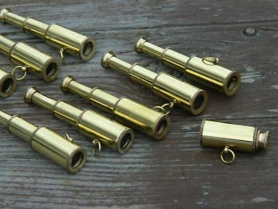 Wholesale Lot 100 Miniature 3Inch Pullout Telescope Necklace Style