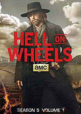 Hell on Wheels: Season 5, Vol. 1 (DVD, 2016, 2-Disc Set) NEW