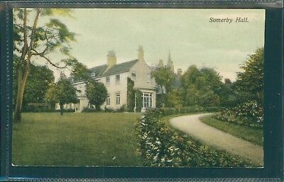 Somerby Hall, Leicestershire. Printed, 1907.