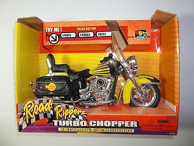 """Road Rippers """"Turbo Chopper"""" Electronic Cycle Sounds New-in-box!"""