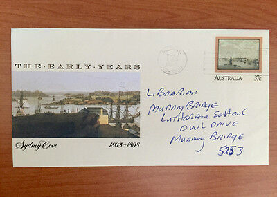 The Early years 37c Australian Pre Stamped Envelope Used