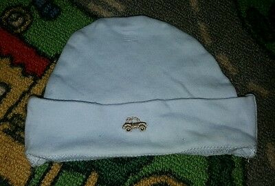 BABY BOYS Sz 000 blue TARGET car beenie CUTE!