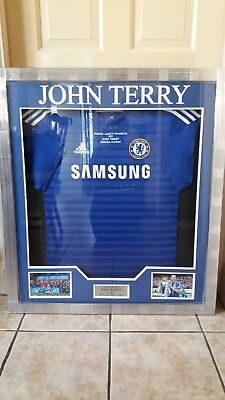 John Terry Signed Limited Edition Chelsea FC Shirt – 2014/2015