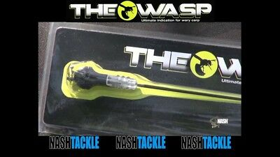 Nash The Wasp Indicator T4965 Carp Fishing Bite Alarm Swinger *Free Postage*