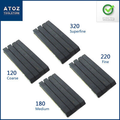4 Set of Honing Stones for 34 to 60 mm Honing Machine (Grid- 320, 220, 180, 120)