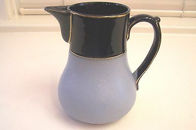 Antique LOVATT LANGLEY 1915 Leadless Glaze Pitcher, 1 1/2 Pint