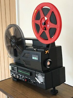 Chinon Twin Magnetic Sound sp 350 SUPER 8 Sound CINE  PROJECTOR fully serviced