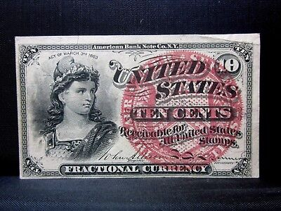 10C Fractional Currency ✪ Xf Extra Fine ✪ 4Th Issue Cent L@@k Now O94 ◢Trusted◣
