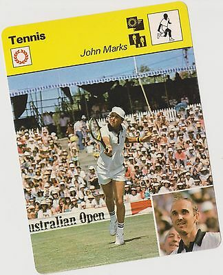 1979 John Marks Sportscaster Card #03 005 103-23 A Printing Nrmt-Mt From Cello