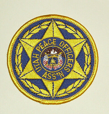 Utah Peace Officers Ass'n Patch