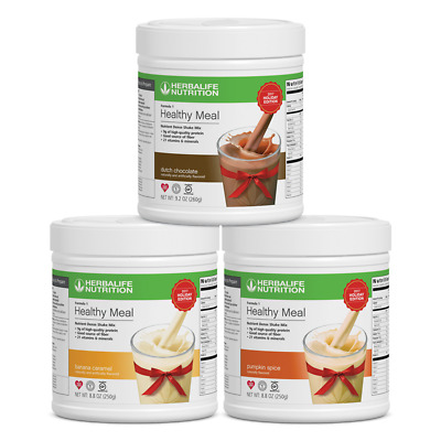 Herbalife Trial Size Variety Pack Pumpkin, Banana And Chocolate Free Shipping