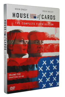 House of Cards Season 5 (DVD, 2017, - 4 Disc Set) Brand New Sealed