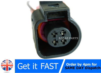 4 Pin Connector Plug Temperature Sensor For Vw Audi Seat Vag Pre Wired 4B0973712