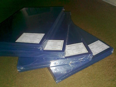 200 x Comb Binding Covers A4 clear 240 micron PVC; 2 packs x 100; carriage free