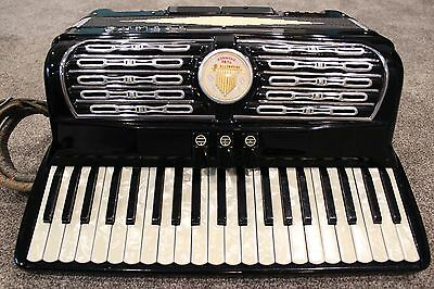 Titano Accordion Organette Tube Chamber Made In Italy 17223 Vintage