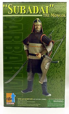 "Subadai The Mongol Dragon 1:6 Scale 12"" Action Figure From U.s.a New 2004"
