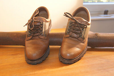 Brasher Womens Brown Leather Sturdy Walking Shoes UK Size 5 - Barely Worn