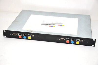 Firewall / VPN (?) Rack avec 2 CPU- CPMm m4 94v0 + 2 Compact Flash 4Go + 2 alims