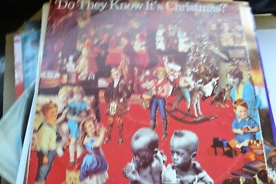 """Band Aid        Do They Know It`s Christmas      12""""     Vg/ex  Con"""