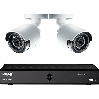 Lorex 1080p HD 4 Channel 1TB CCTV Kit with 2 Cameras - Free P&P IRE & UK!