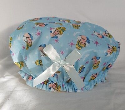 Girls Disney Princess Cinderella blue bath/shower cap - stocking filler