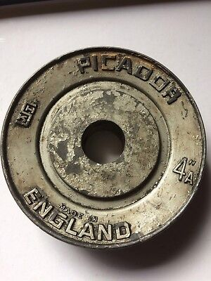 Picador 4 Inch Pulley Stamped Made In England