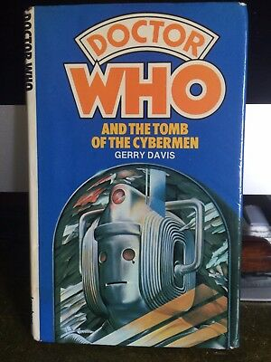 TOMB OF THE CYBERMEN Dr Doctor Who hardback book W H Allen Target