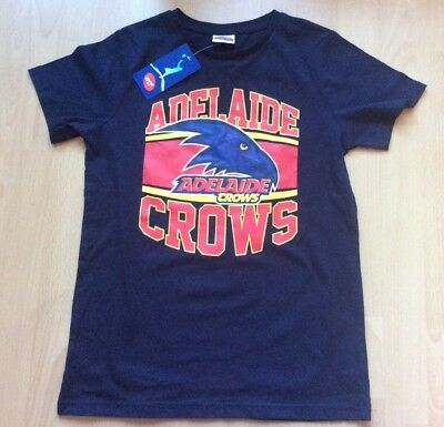 Official ADELAIDE CROWS AFL Australia Training,Leisure,T-Shirt Boys Age 12