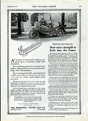 1911 Speedwell Car ad -0-256