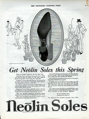 1918 Neolin Soles shoes ad  --0-267
