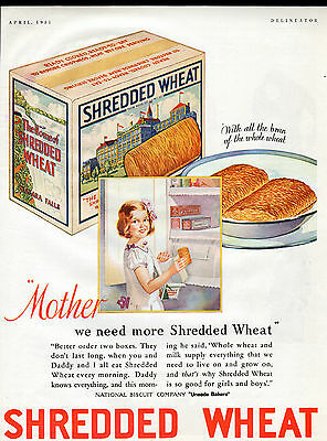 1931 Nabisco cereal ad -Shredded Wheat---[-44
