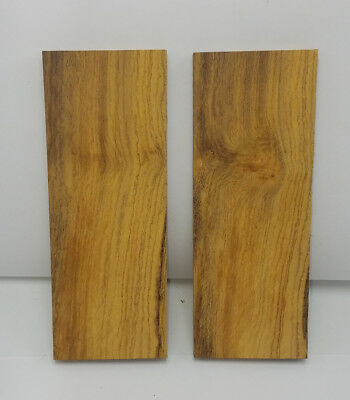 Desert Ironwood rough-cut and unfinished Knife Scales Making Knife Handle (3)