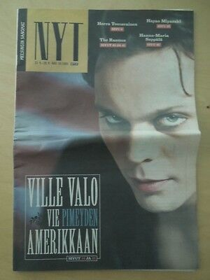 Finnish HS Nyt Magazine 38/2005 HIM Ville Valo on cover