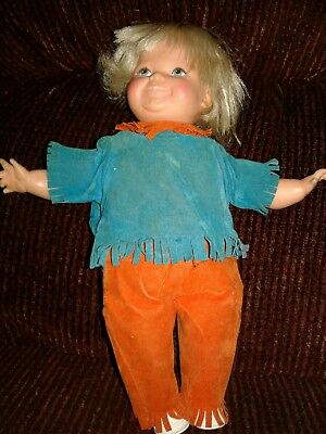 Ideal Toddler Thumbelina  Doll Vintage