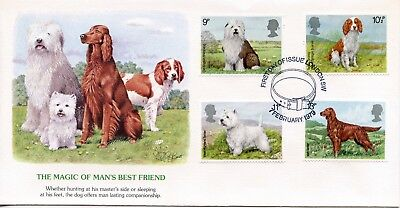 GREAT BRITAIN  1979 Dogs    FDC732